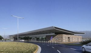 Aeropuerto de La Rioja Render