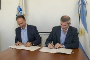Firma del convenio ANAC - IATA