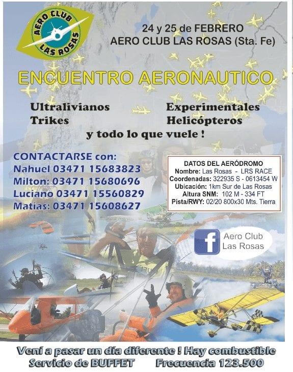 Encuentro Aeronautico Aero Club Las Rosas